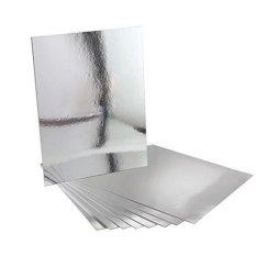48 cái Phòng Tắm Vuông Removeable Tự adhesi vệ Mosaic Ốp Gương Treo Tường S tickers Trang Trí Nhà-quốc tế