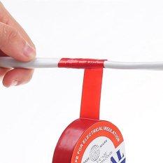 4 bao giờ 2 cái Hữu Ích Chống Thấm Nước Chống điện PVC Sửa Chữa Băng Liên Kết Dây Cứu Hộ Băng (Đỏ) -quốc tế