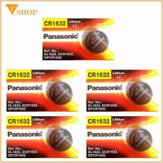 Mua 5 Vien Pin Cr1632 Panasonic 3V Pin Remote Cr1632 Trực Tuyến
