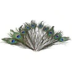 Mua 50 cái 25-30 cm Trang Trí Tự Nhiên Hình Chim Công Con Công Đuôi Mắt Lông cho Thủ Công Nghệ Thuật Đầm Nón Vũ trang phục Dự Tiệc-quốc tế