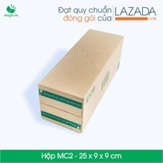 50 Thùng (hộp) Carton - Mã Hn_mc2 - Kích Thước 25*9*9 (cm) By Thùng Hộp Carton Giá Rẻ.