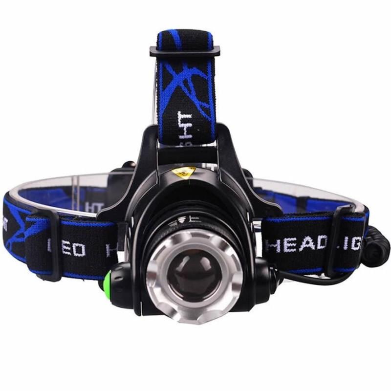 Bảng giá 5000LM Cree XML-L2 XM-L T6 Led Headlamp Zoomable Headlight Waterproof Head Torch Flashlight - intl