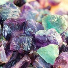Hình ảnh 50 gam Hiếm Fluorit Đá Pha Lê Đá Thô Đá Quý Sỏi Làm Đẹp Vật Trang Trí-quốc tế