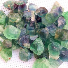 Hình ảnh 50 gam Hiếm Fluorit Thạch Anh Đá Pha Lê Đá Thô Đá Quý Làm Đẹp Vật Trang Trí-quốc tế
