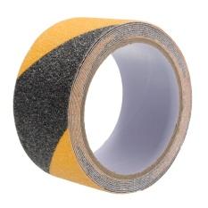 5 cm x 3 m Tầng An Toàn Không Trượt Băng Cuộn Chống Trơn Trượt Keo Dán Độ Bám Cao màu đen và màu vàng -quốc tế