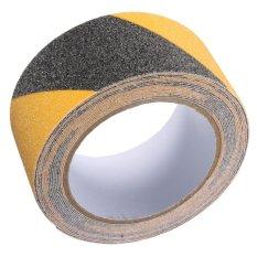 5 cm x 5 m Tầng An Toàn Không Trượt Băng Cuộn Chống Trơn Trượt Keo Dán Độ Bám Cao màu đen và màu vàng -quốc tế