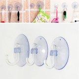 5 cái Trong Suốt Móc Treo Tường Móc Treo Nhà Bếp Nhà Tắm Hút Hút Accessorie 2.5 cm-quốc tế