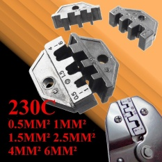 6 loại 230C Ratchet Dây Crimper Cách Nhiệt Trần Nhà Ga Quai Hàm Cho Uốn Kìm-quốc tế