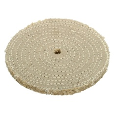 Hình ảnh 6'' 150*10mm Sisal Cloth Buffing Wheel For Metal Stainless Steel Polishing Tool - intl