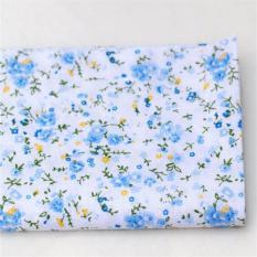 Mua 7x Vuông 25x25 cm Các Loại Hoa Văn Họa Tiết Hoa Chất Vải Cotton Vải Đồ trang trí tháng 5 Xanh Dương