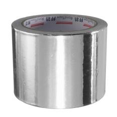 Băng keo sửa ống nhiệt chất liệu nhôm bạc 80 mét x 25 m-Quốc tế