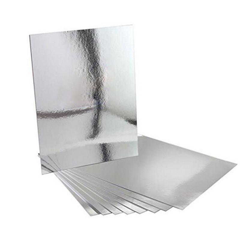 80 cái Phòng Tắm Vuông Removeable Tự adhesi vệ Mosaic Ốp Gương Treo Tường S tickers Trang Trí Nhà