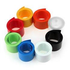 8 cái 18650 18500 Pin Nhiều Màu Vòng NHỰA PVC Ống Co Nhiệt 2 m * 18.5 mét Ống Bọc bộ dụng cụ Bảo Vệ Ống