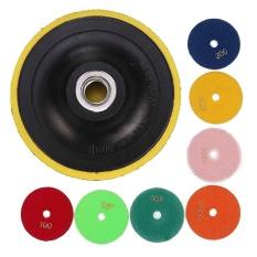 8 cái/bộ 4 inch Đánh Bóng Kim Cương Miếng Lót cho Đá Cẩm Thạch Đông Ninh Bê Tông Đá-quốc tế