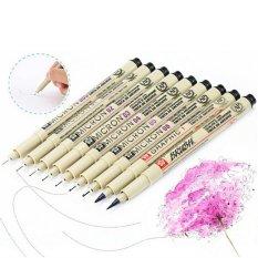Chiết Khấu Sản Phẩm 8X Sakura Pigma Micron Drawing Pen 005 01 02 03 04 05 08 1 Brus Supplies Beige Intl