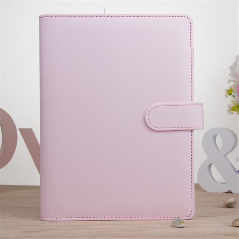 Mua A5 Classic Weekly Monthly Planner Diary Loose-Leaf-Ring-Binder Notebook Cover # Pink - intl