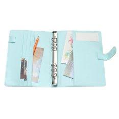 Mua A5 Rời Lá Notebook Bao Hàng Tuần Hàng Tháng Quy Hoạch Nhật Ký Tặng Bao Da Màu Xanh-quốc tế