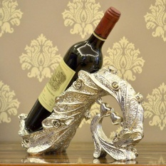 Trừu Tượng Chim Công Cupid Phong Cách Nhựa Đựng Chai Rượu Khắc Hoa Trang Trí-Quốc Tế By Top1a.