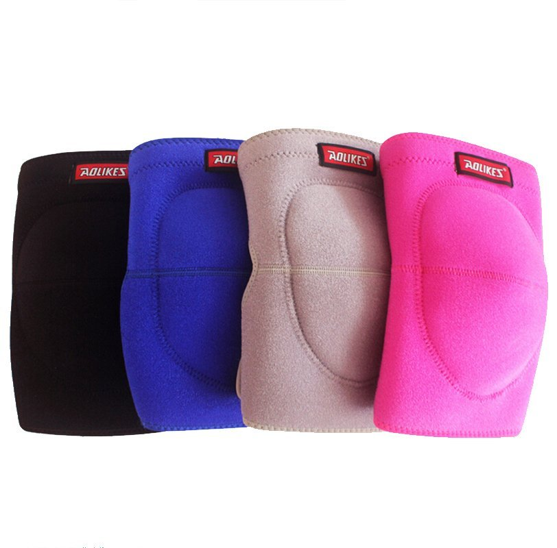 High Quality Adjustable Football Volleyball Dance Knee Pads Thickened Sponge Extreme Sports Ski Kneepad Cycling Knee Support Protector 1pcs - intl