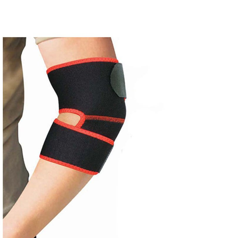 Adjustable Warm Arm Band Breathable Elbow Protector For Tennis Golf Volleyball Football Basketball Sport Gym - intl