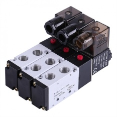 Mua Aluminum Alloy 5 Way 2 Position Normally Closed Pneumatic Electric Air Solenoid Valve Dc12V Intl Oem