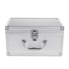 Aluminum Alloy Toolbox Instrument case Portable Sponge Lining Handheld - Silver - intl