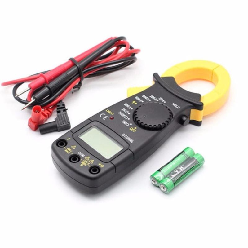 Ampe kế cầm tay kẹp vạn năng kỹ thuật số kẹp mét DT-3266L+2bin   (minh hồng)