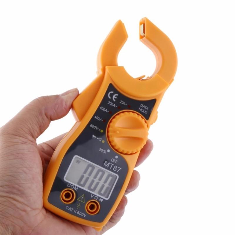 Ampe kế cầm tay kẹp vạn năng kỹ thuật số MT87 (có loa báo thông mạch,kèm pin)