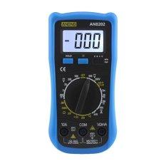 AN8202 MÀN HÌNH LCD Kỹ Thuật Số Đồng Hồ Đo Vạn Năng Đèn Nền AC/DC Ohm Điện Áp Ampe Kế-quốc tế