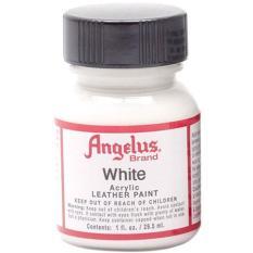 Hình ảnh Màu vẽ da Angelus Leather Paint 29.5 ml - White