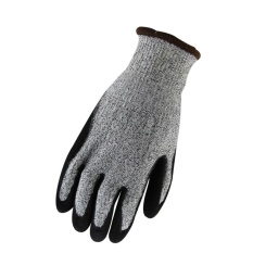 anti-cutting resistant gloves grey - intl