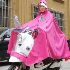 Áo mưa choàng cánh dơi chất liệu cao cấp chống thấm hiệu quả có kính che mặt tiện dụng ( màu ngẫu nhiên )