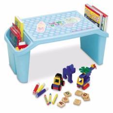 Bàn học, bàn ăn có khay chứa vật dụng đa năng giành cho trẻ em