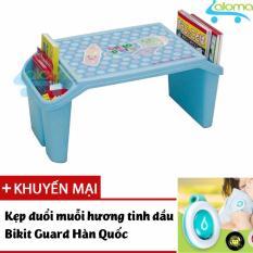 Bán Ban Học Mini Co Hộp Đựng Cho Be Child Desk Cd Bl Tặng Kẹp Tinh Dầu Đuổi Muỗi Aloma Nguyên