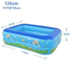 Bể bơi phao 2 tầng cao cấp cho bé