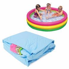 Bể Bơi Phao Dạng Tròn Intex Cao Cấp Cho Bé Loại Cực Đại(148*33) Kèm 10 Banh Nhựa
