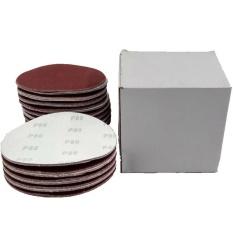 Hình ảnh Beautymaker 100pcs 6 Inch DA Hook and Loop Sandpaper Sanding Discs 40-2000 Grit - intl