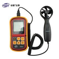 BENETECH GM8901 0~45m/s High Accuracy Anemometro LCD Display Digital Anemometer Wind Meter Air Velocity Temperature Meter - intl