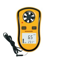 BENETECH GM8908 Mini LCD Digital Anemometer for Fishing Wind Surfing Sailing Kite Flying Climbing - intl
