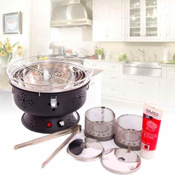 Bếp nướng than hoa nam hồng BN300(Đồng đỏ)