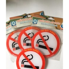 Hình ảnh Biển báo - cấm hút thuốc