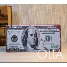 Chiết Khấu Biến O To Car Vintage Bằng Thep 100 Đo La Olia