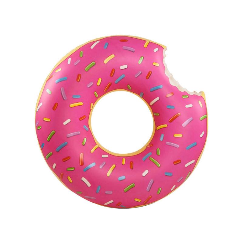 Lớn Doughnut Cổ Bơm Hơi Bơi Người Lớn Bể Bơi Huấn Luyện Dụng Cụ