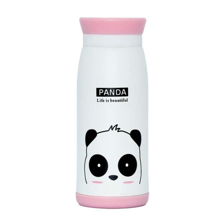 Bình giữ nhiệt Hàn Quốc cao cấp dung tích 500ml Panda (Trắng)