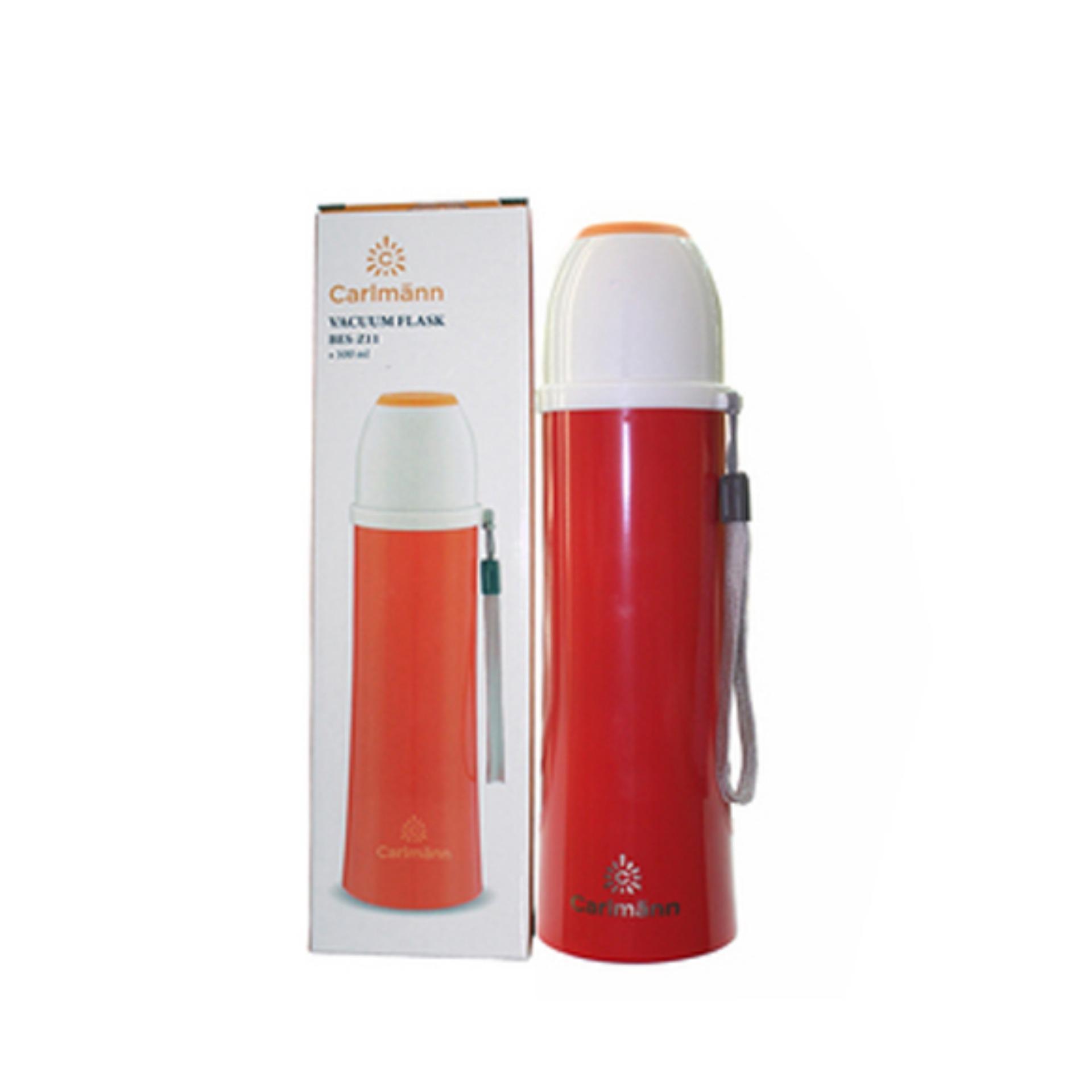 Bình giữ nhiệt nóng lạnh Carlmann BES-Z11 0.5L (Đỏ)