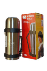 Ôn Tập Binh Giữ Nhiệt Nong Lạnh Kingfish Co Day Đeo Han Quốc 500Ml Vang Korea