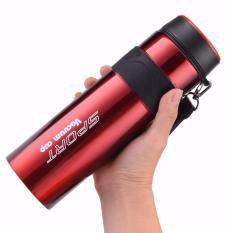 Ôn Tập Binh Giữ Nhiệt Sport Vacuum Cup 880Ml Inox304 Mau Đỏ