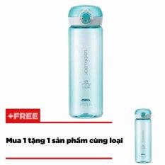 Giá Bán Binh Nước L L One Touch 550Ml Mau Xanh La Mua 1 Tặng 1 Lock Lock Vietnam