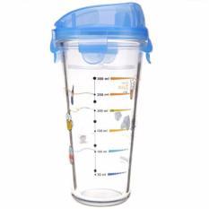 Mua Binh Thủy Tinh Chia Vạch Co Nắp Glasslock Diet Shaker Pc318 450Ml Mới