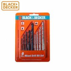 Hình ảnh BLACK+DECKER - A8106G Hộp mũi khoan đa năng 9 chi tiết